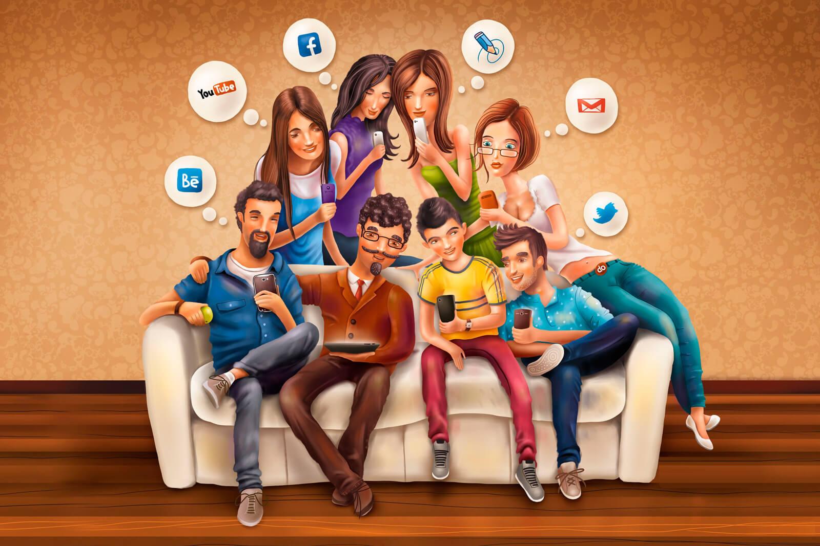 Развлечения, общение и продвижение в соцсетях