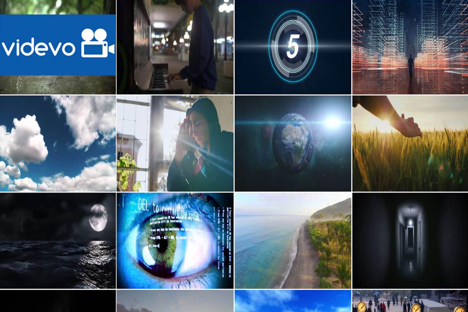3. Videvo.net - бесплатные стоковые видеоматериалы