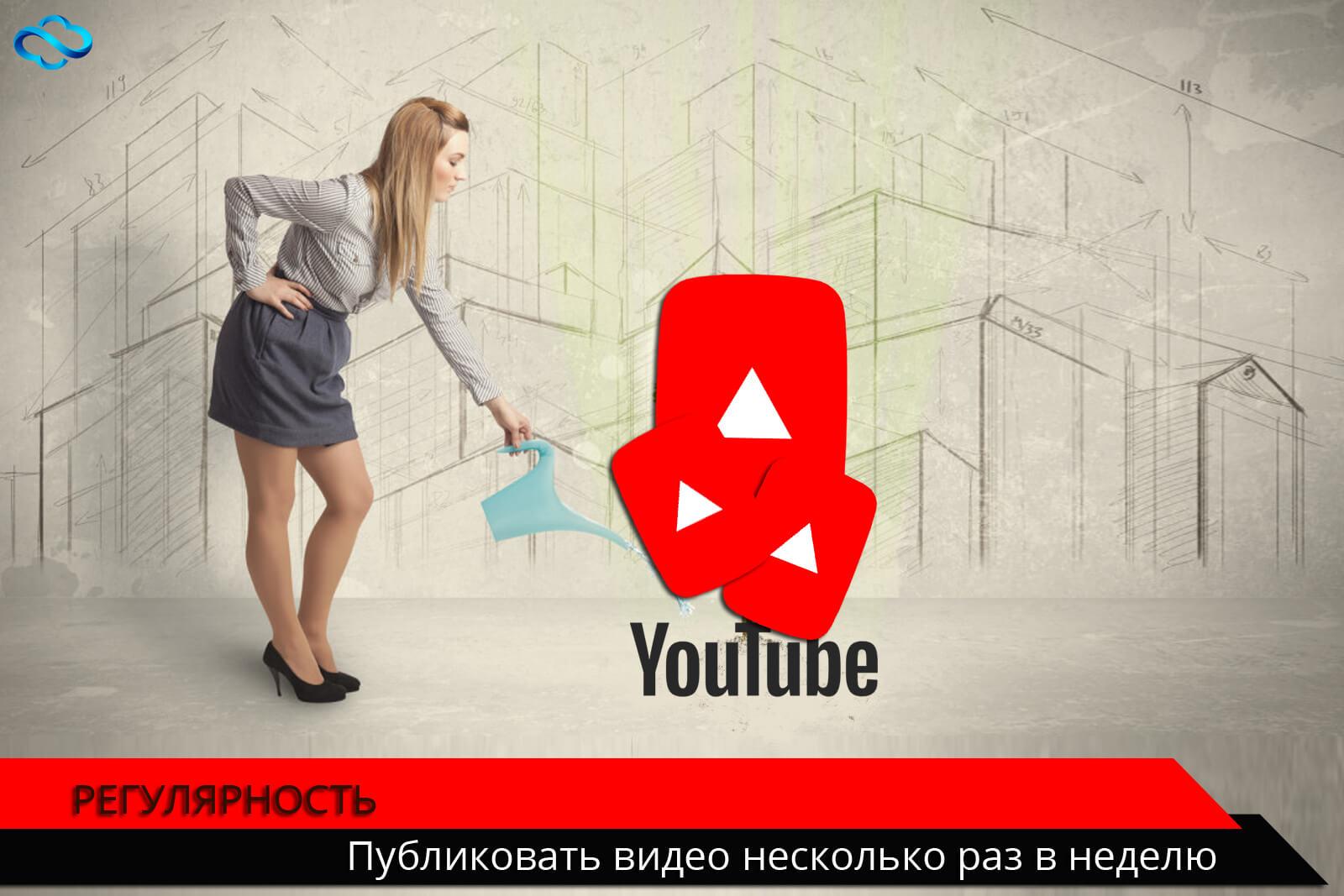 Регулярность-путь к продвижению своего YouTube канала